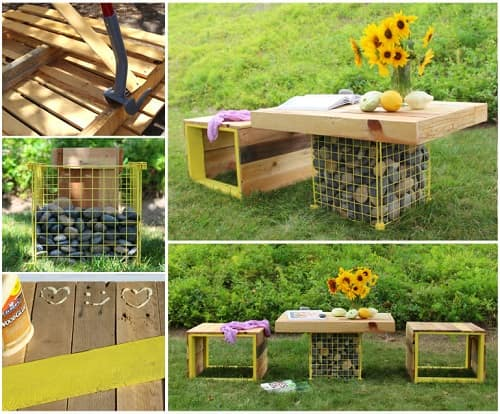 wood pallet table ideas 14