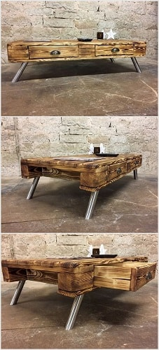 wood pallet table ideas 2