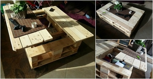 wood pallet table ideas 8