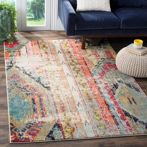 3x5 Bathroom Rugs | Safavieh Monaco Vintage Rug Review