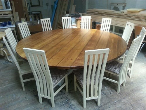 Large Dining Room Table Seats