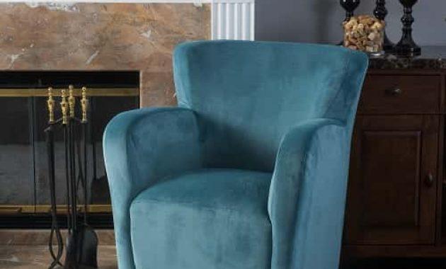 Angelo Velvet Fabric Wingback Chair