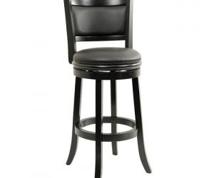 Augusta Black Bar Stool 1