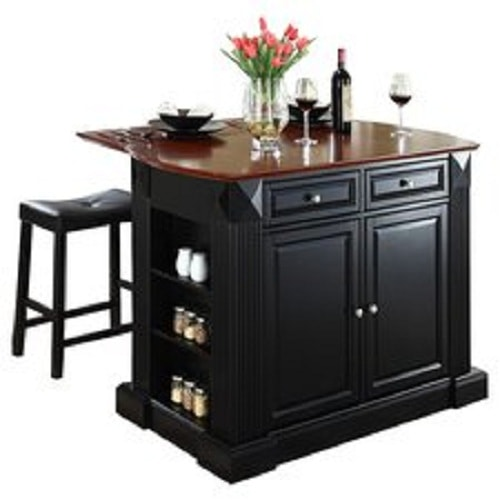 Augusta Black Bar Stool 2