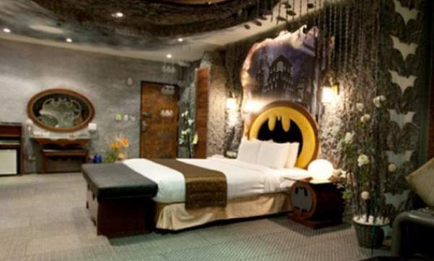 Tips To Remodeling Your Own Bat Cave With Cool Batman Bedroom Set