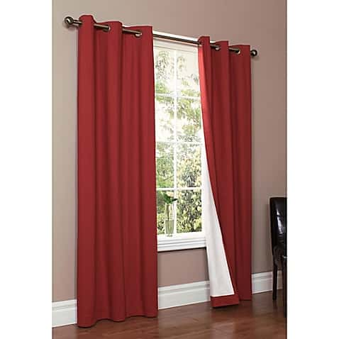 Burgundy Curtains For Living Room 5