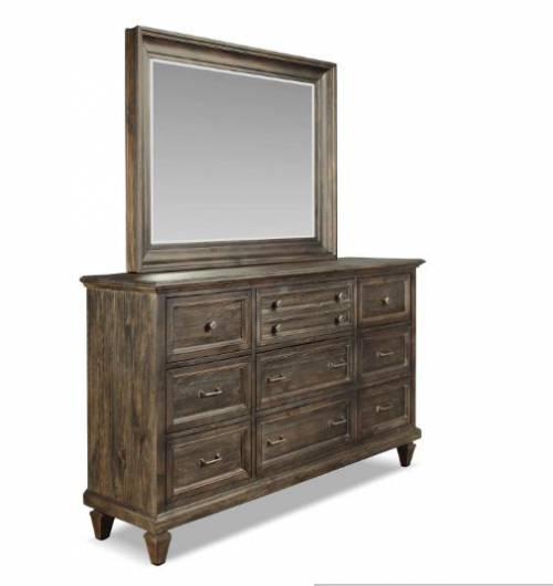 Calistoga 4-Piece Queen Bedroom Set – Charcoal