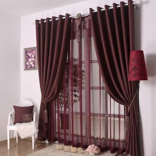 Decorative Curtains For Living Room 8