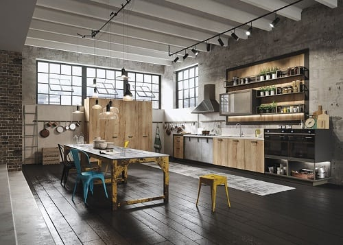 Industrial Kitchen Ideas 1