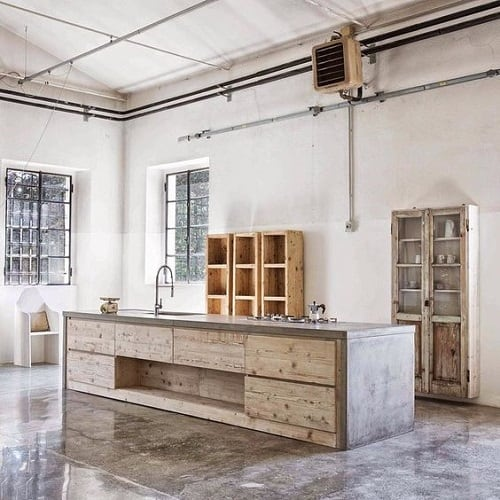 Industrial Kitchen Ideas 14-min