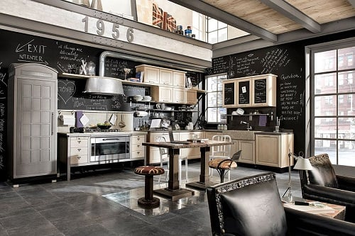 Industrial Kitchen Ideas 19-min