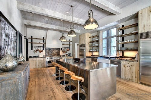Industrial Kitchen Ideas 20-min