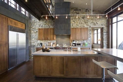 Industrial Kitchen Ideas 23-min