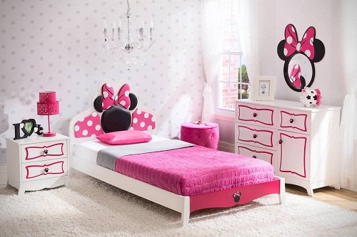 Minnnie Mouse Bedroom Set for Toddler