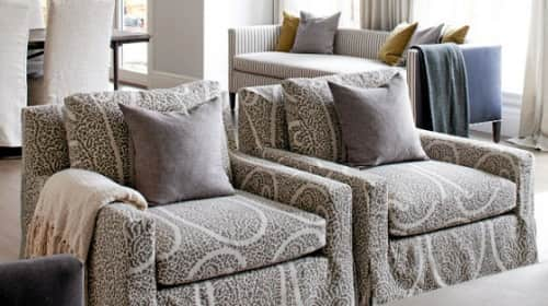 Patterned Living Room Chairs 1