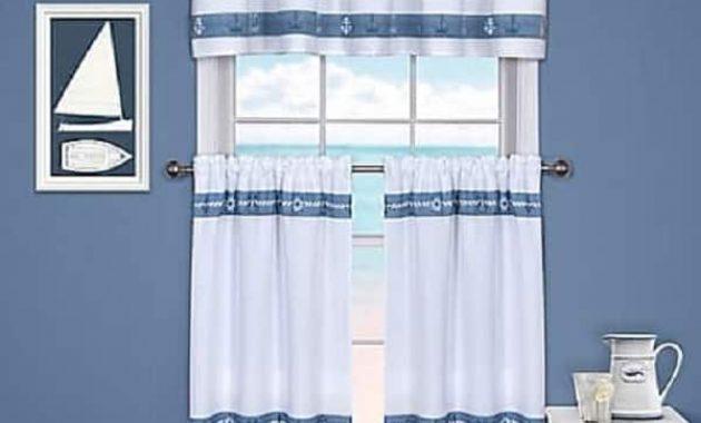 Coastal Kitchen Curtains
