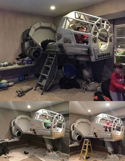 Star Wars Themed Bedroom
