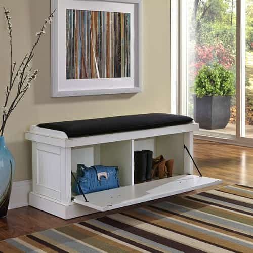 15 Best Storage Bench For Living Room To Keep Your Stuff Comfortably