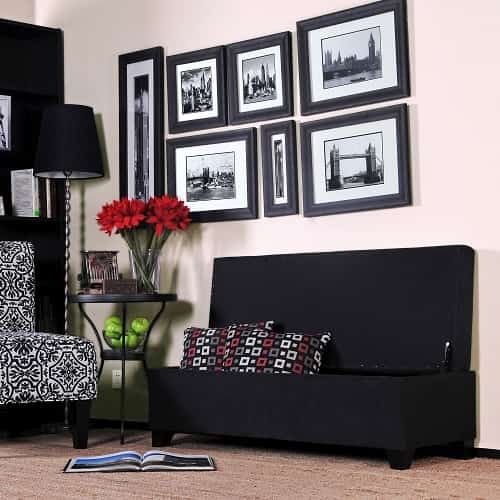 Storage Bench For Living Room Featured