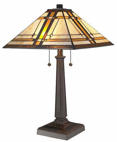 cheap table lamps for living room tiffany mission table lamp review. Black Bedroom Furniture Sets. Home Design Ideas