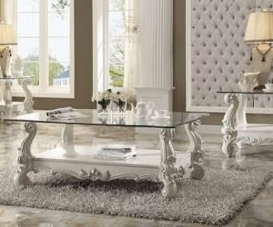 Versailles Bone Table Set