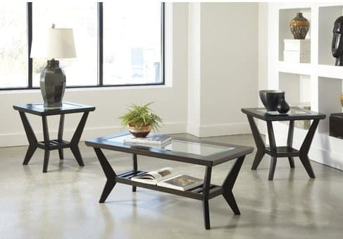 Woodrow 3 Piece Table Set