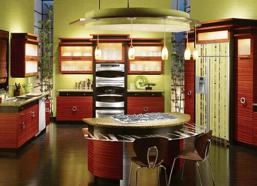 cafe themed kitchen 1
