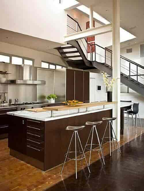 cafe themed kitchen 12
