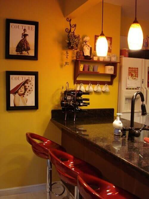 cafe themed kitchen 6