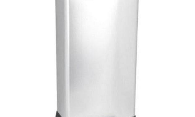 curver rectangle step open trash can 1