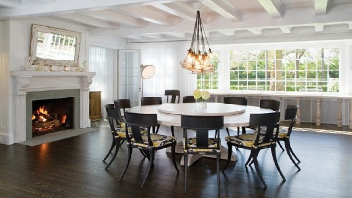 Large Dining Room Table Seats 12, Large Dining Room Table Seats 12