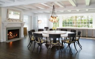... Large Dining Room Table Seats 12