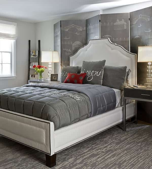 Choosing a serene and calm gray paint for bedroom ideas for Calm and serene bedroom ideas