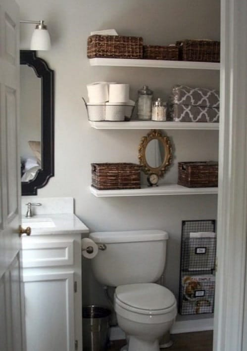 15 easiest and smartest tips on how to organize a small How to organize bathroom