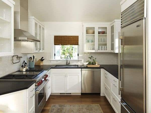 how to organize a small kitchen cover