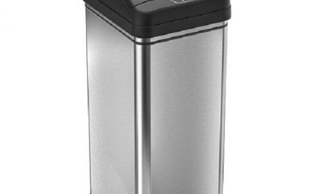 iTouchless Deodorizer Automatic Trash Can 1