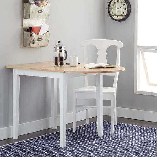 kitchen table with leaf insert 3