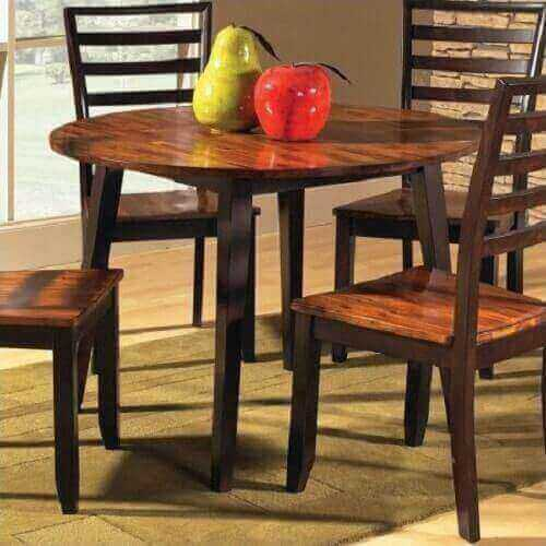 kitchen table with leaf insert 4