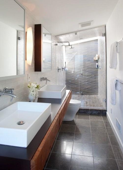 Most Brilliant Long Narrow Bathroom Ideas Thatll Drop