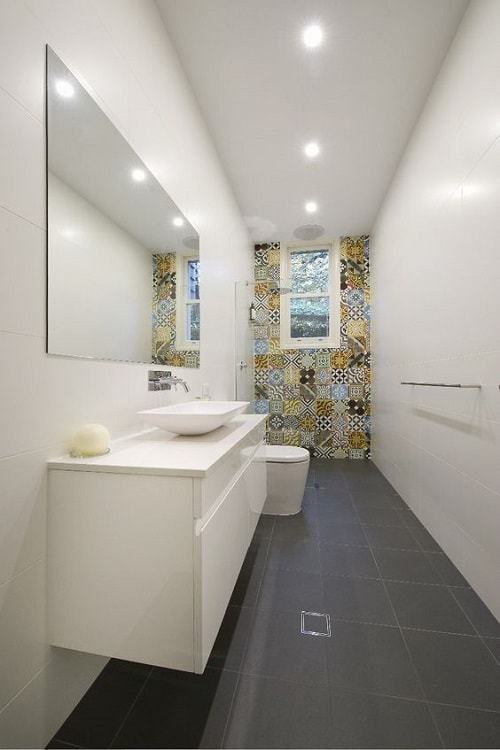 Long Bathroom Design Ideas ~ Most brilliant long narrow bathroom ideas that ll drop
