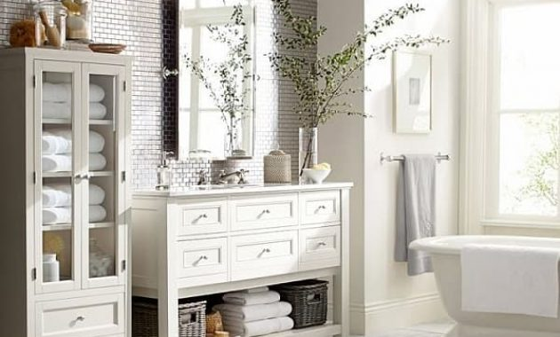 15 most beautiful pottery barn bathroom sconces under 300 - Pottery Barn Bathroom
