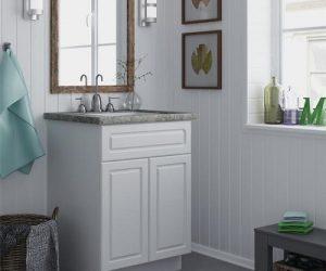 ameriwood home 24-inch prefab bathroom vanity