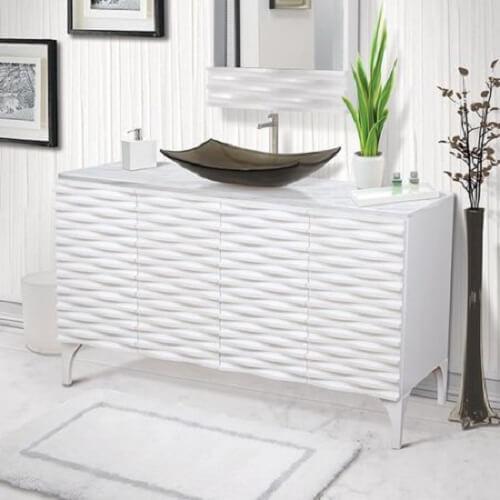 Prefab Bathroom Vanity | DECOLAV Sophia Bathroom Vanity Review