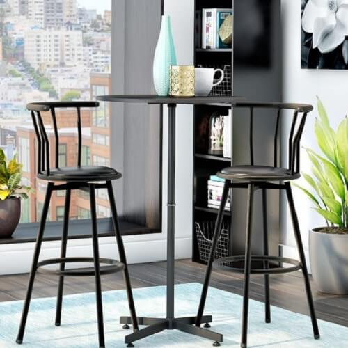 Bar Table Sets For Kitchen: 10 Beautiful Pub Style Kitchen Table Set Under $350.00