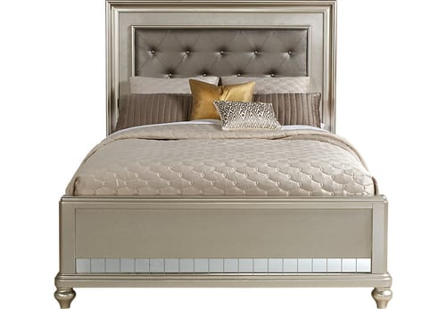 Sofia Vergara Collection Paris Silver 5 Pc Queen Bedroom Review