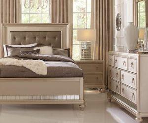 Sofia Vergara 5pc Paris Silver Queen Bedroom Set