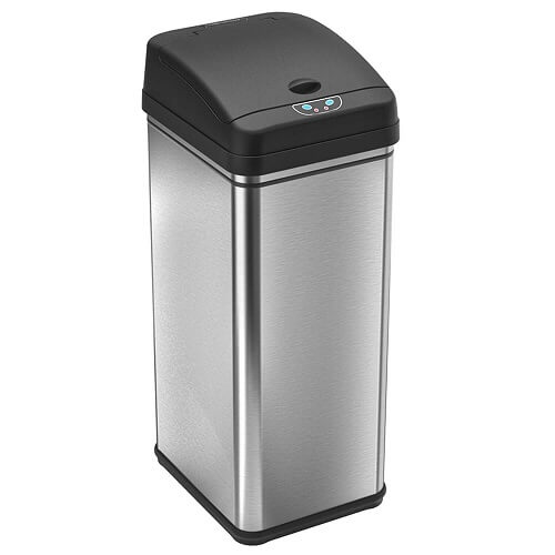 touchless kitchen trash can 1