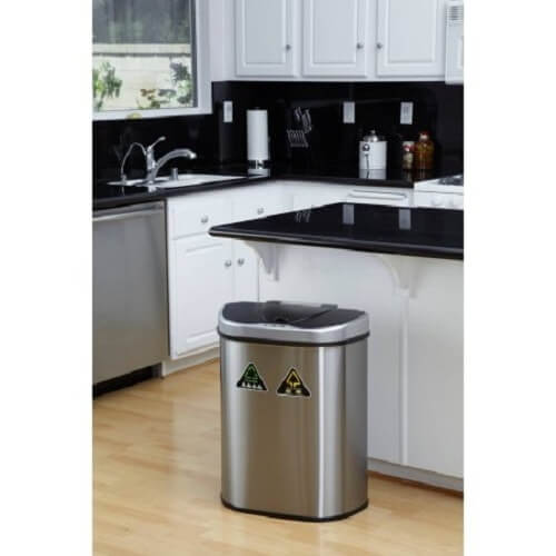touchless kitchen trash can 3