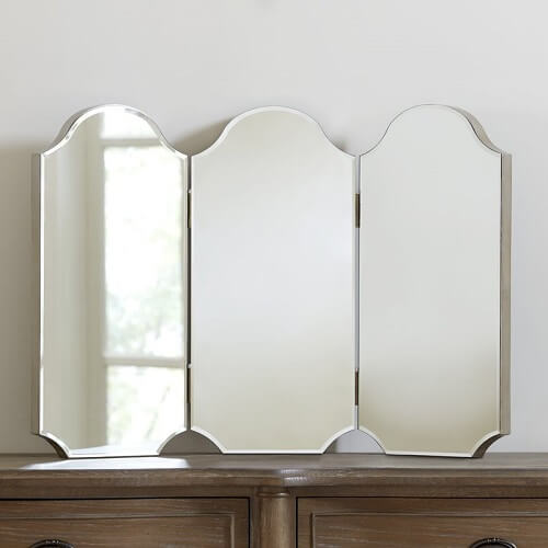 Chase Trifold Bathroom Vanity Mirror ($243.99)
