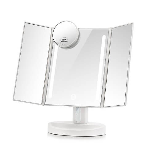 15 gorgeous and fantastic tri fold bathroom mirror under 300 for Beauty mirror